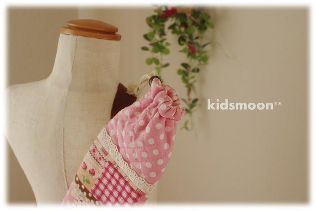 幼稚園保育園バトンケースキルティング手作り