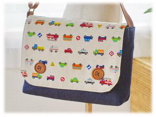 手作り幼稚園バッグショルダーバッグKDIかわいいおしゃれ